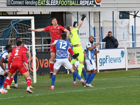 MATCH REPORT | Wealdstone 0-1 Bromley