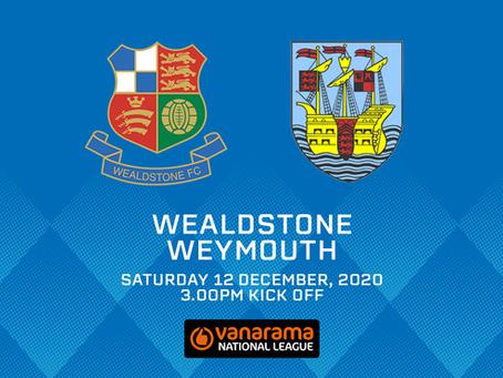 Wealdstone v Weymouth - Match Preview