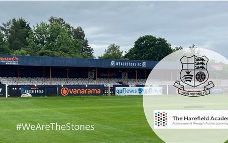 Stones form Education Partnership with The Harefield Academy