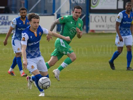 MATCH REPORT | Wealdstone 0-2 Yeovil Town