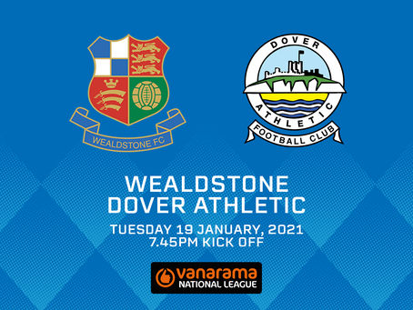 Dover match rearranged
