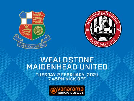 Wealdstone v Maidenhead United - Match Preview
