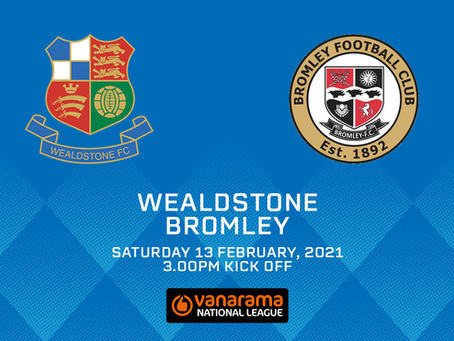 GAME OFF | Bromley match postponed