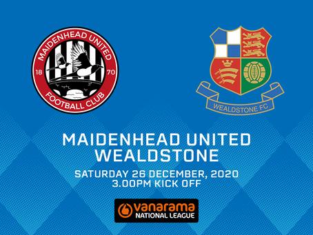 Maidenhead United v Wealdstone - Match Preview
