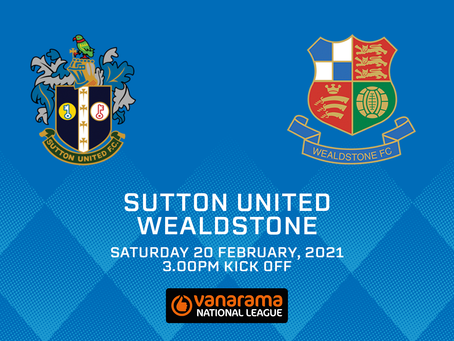 Sutton United v Wealdstone - Match Preview