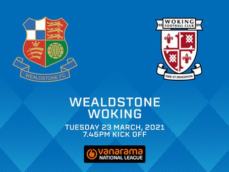 Wealdstone v Woking - Match Preview