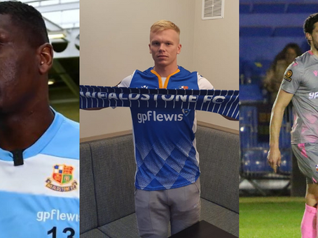 Triple signing at the Stones