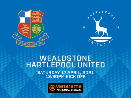 Wealdstone v Hartlepool United - Match Preview