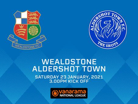 Wealdstone v Aldershot Town - Match Preview