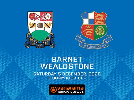 Barnet v Wealdstone - Match Preview