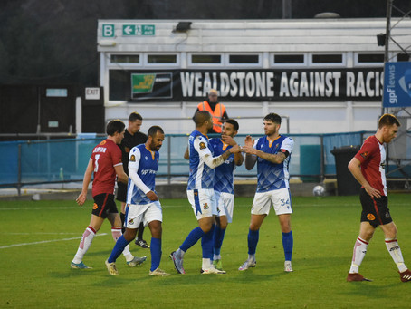 Wealdstone 1-0 Altrincham - Match Report