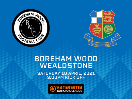 Boreham Wood v Wealdstone - Match Preview