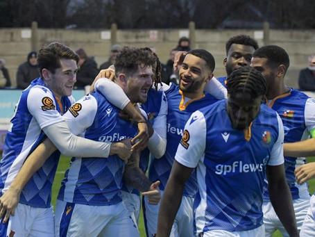 Wealdstone 2-1 Weymouth - Match Report