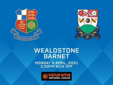 Wealdstone v Barnet - Match Preview