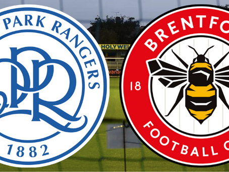 QPR B in action on Wednesday night