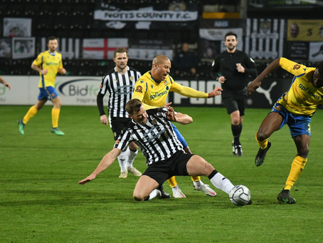 MATCH REPORT | Notts County 3-0 Stones