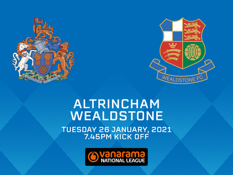 Altrincham v Wealdstone - Match Preview