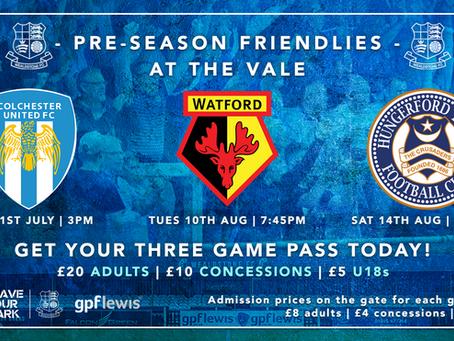 Pre-Season Ticket Details