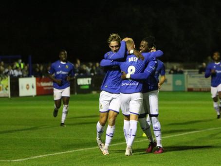 MATCH REPORT   Wealdstone 1-0 Grimsby Town