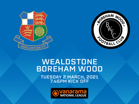 Wealdstone v Boreham Wood - Match Preview