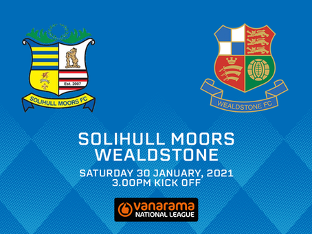 GAME OFF | Solihull game postponed