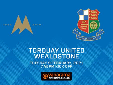 Torquay United v Wealdstone - Match Preview