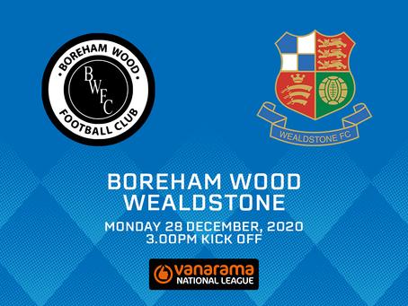 Boreham Wood v Wealdstone - Match Preview