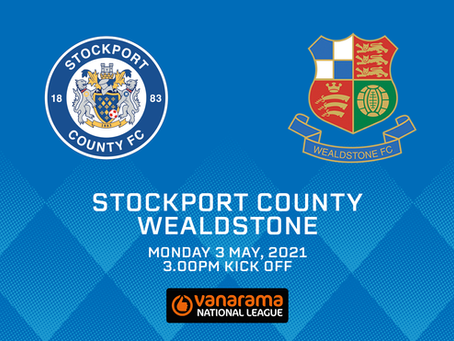 Stockport County v Wealdstone - Match Preview