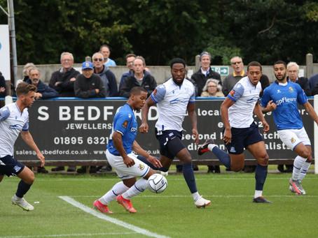 MATCH REPORT   Wealdstone 0-0 Southend United