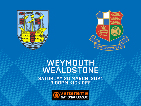 Weymouth v Wealdstone - Match Preview