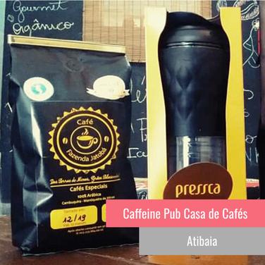 Caffeine Pub Casa de Cafés