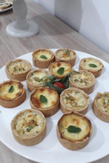 Kit com 6 Mini Quiche