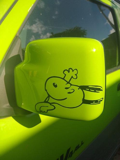Adesivo Snoopy