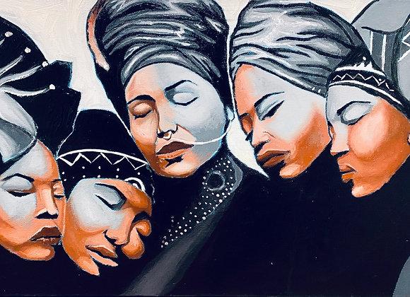 """Sisters"" (Print)"