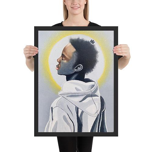 """""""Guided Light"""" Framed print"""