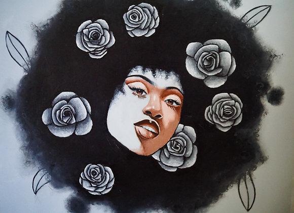 """""""Rose Different"""" (Original Painting)"""
