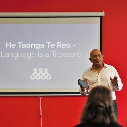 He Taonga Te Reo - Language is a treasure