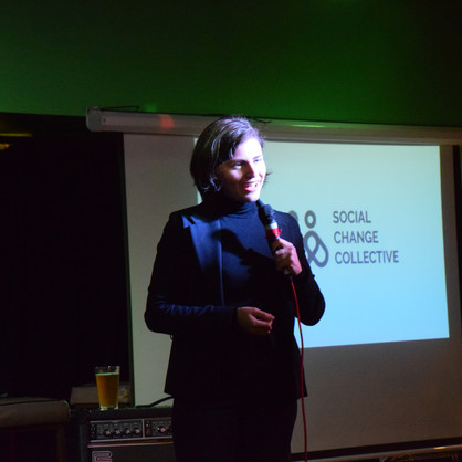 2018 Kickoff event with Chlöe Swarbrick