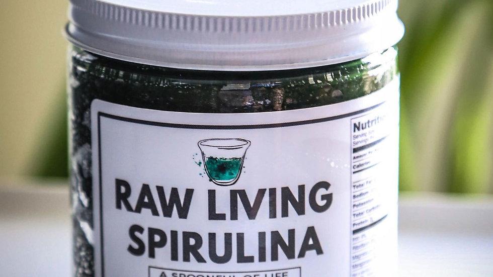 Raw Living Spirulina Gourmet Supreme | Four 16oz. Jars | Free Shipping!