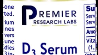 Premier Research Labs D3 Serum - 0.43 fluid oz. plus dropper