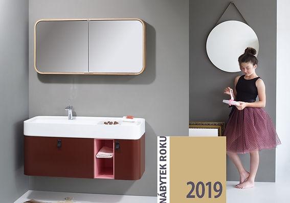 lebon bonbon zaobleny koupelnovy nabytek roku 2019