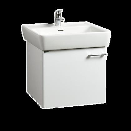 Skříňka s umyvadlem Laufen Pro A 55x48cm bílá lesk