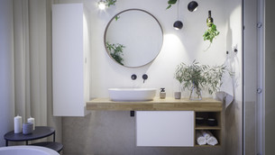 LE BON VISIT - THE BATHROOM FULL OF PLANTS