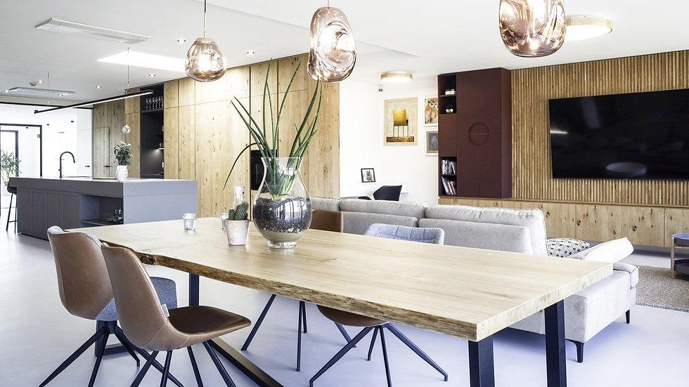 Luxusní interiér Le bon design.
