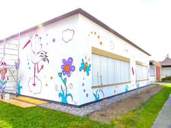 fresque école maternelle
