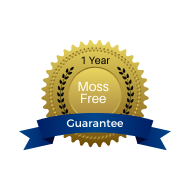 wilderand provides a one year moss free guarantee