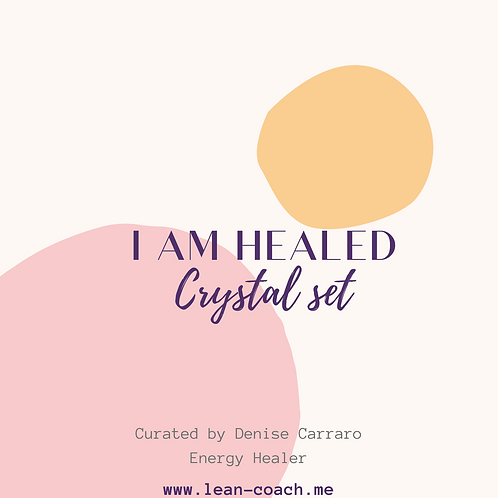 "Crystal Set  -  ""I Am Healed"""