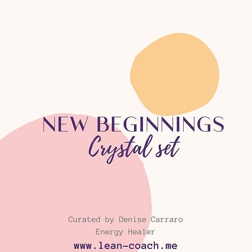 "Crystal Set -""New Beginnings"""
