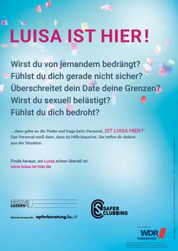 Luisa-ist-hier_Plakat_Luzern_Ansicht