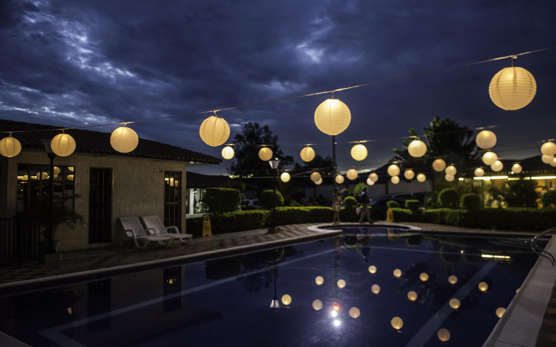 decoracion globos villa isa